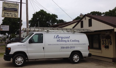 Bryant Heating and Cooling Service Van